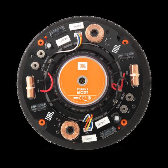 "Studio 2 6ICDT - Black - Premium Stereo In-Ceiling Loudspeaker with 6-1/2"" Woofer - Back"