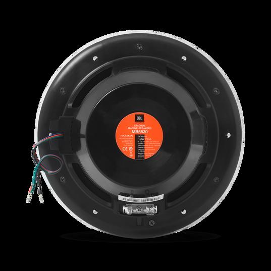 JBL Stadium Marine M6520 - Black - Take JBL concert level sound to the high seas. - Back