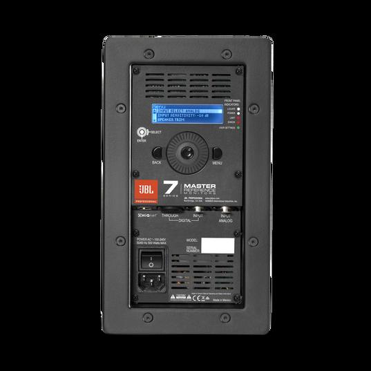 "JBL 705P - Black - 5"" Bi-Amplified Master Reference Monitor - Back"