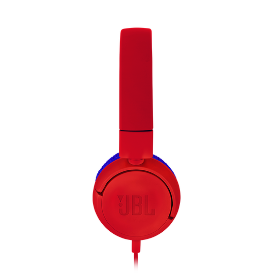 JBL JR300 - Red - Kids on-ear Headphones - Detailshot 1