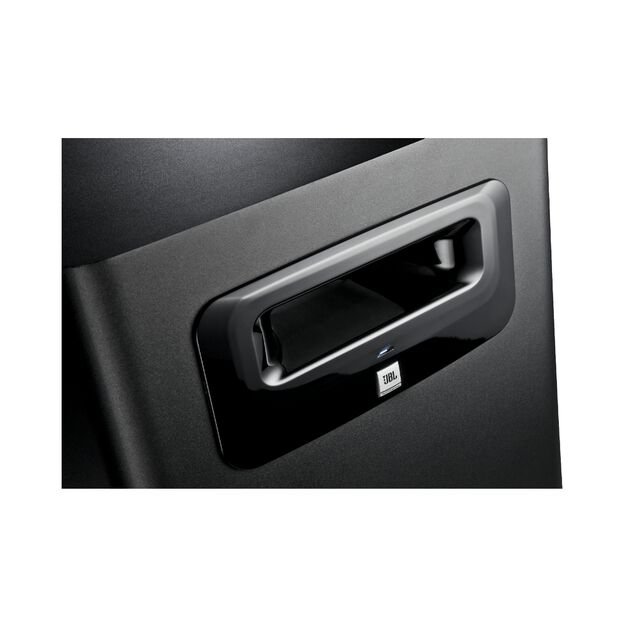 "JBL LSR310S - Black - 10"" Powered Studio Subwoofer - Detailshot 1"