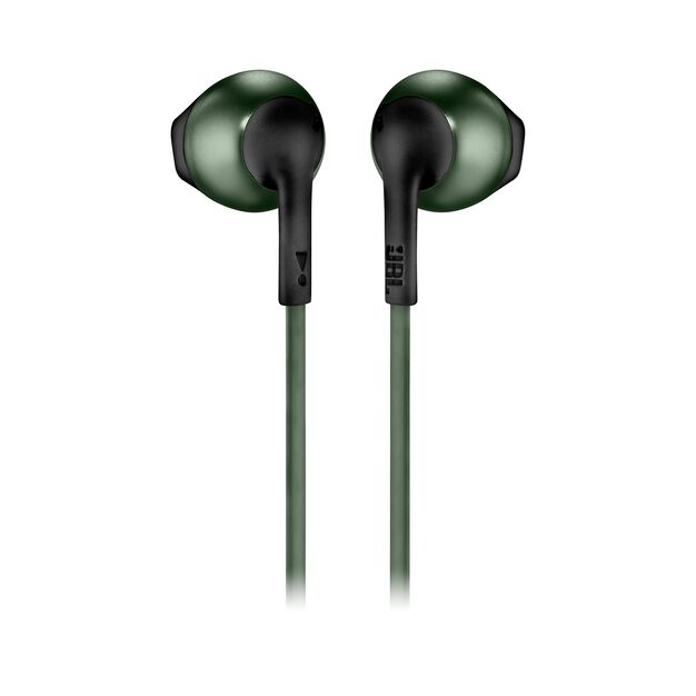 JBL TUNE 205BT - Green - Wireless Earbud headphones - Back