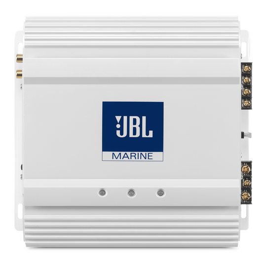 MA 6002 - Black - 2-Channel Full-Range Marine Amplifier (60x2) - Hero