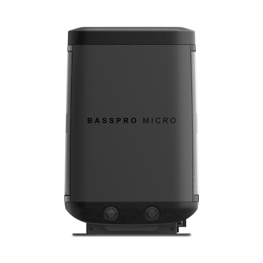 JBL BassPro Micro - Black - JBL BassPro Micro Dockable Powered Subwoofer System - Detailshot 3