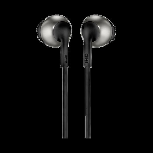 JBL TUNE 205 - Black - Earbud headphones - Back