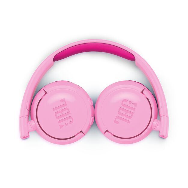 JBL JR300BT - Pink - Kids Wireless on-ear headphones - Detailshot 3