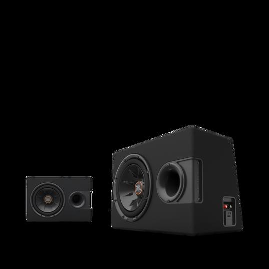 """S2-1224SS - Black - 12"""" (300mm) Slipstream ported enclosure - Detailshot 6"""