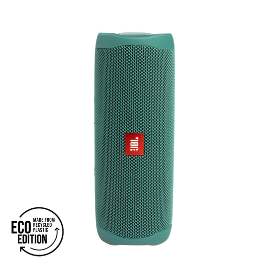 JBL Flip 5 Eco edition - Forest Green - Portable Speaker - Eco edition - Hero