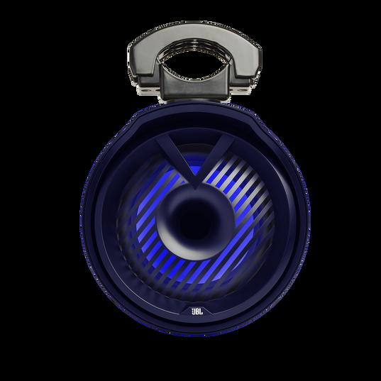 "JBL Tower X Marine MT6HLB - Black Gloss - 6-1/2"" (160mm) enclosed two-way marine audio tower speaker with 1"" (25mm) horn loaded compression tweeter – Black - Detailshot 5"