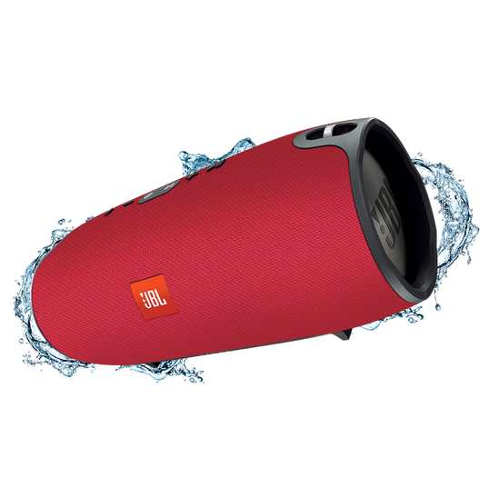 JBL Xtreme - Red - Splashproof portable speaker with ultra-powerful performance - Hero