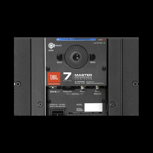 """JBL 705P - Black - 5"""" Bi-Amplified Master Reference Monitor - Detailshot 2"""