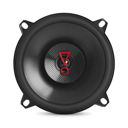 "Stage3 527 - Black - 5-1/4"" (130mm)  2-Way coaxial car  speaker - Detailshot 1"