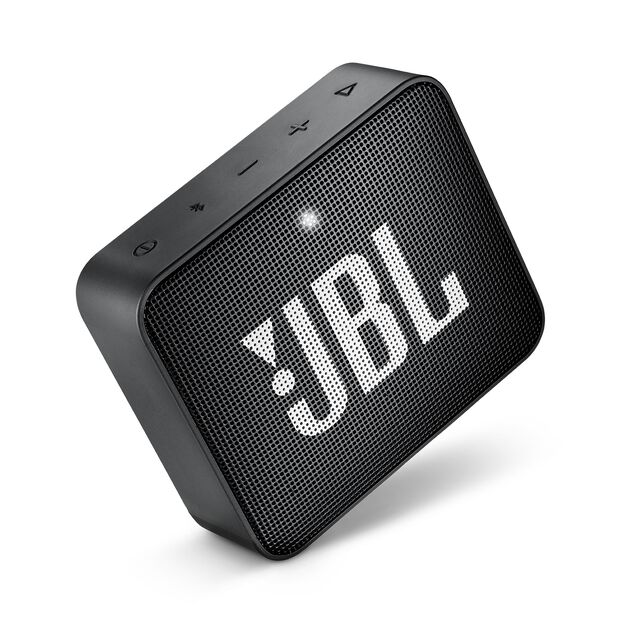 JBL GO 2 - Black - Portable Bluetooth speaker - Detailshot 2