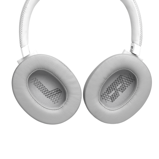 JBL LIVE 500BT - White - Your Sound, Unplugged - Detailshot 4