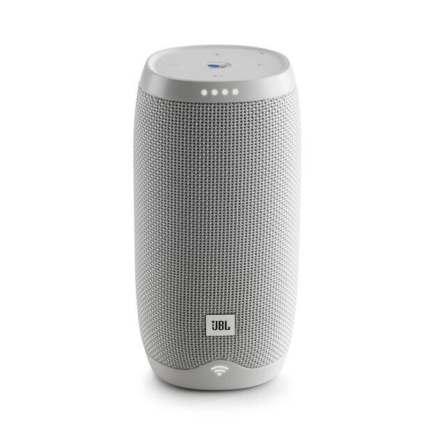 JBL Link 10 - White - Voice-activated portable speaker - Front