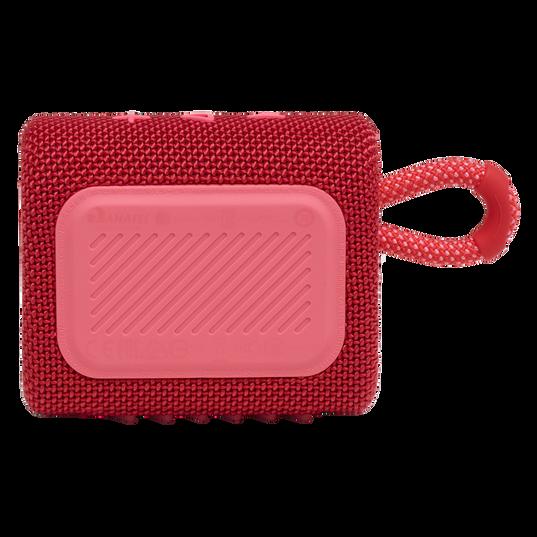 JBL GO 3 - Red - Portable Waterproof Speaker - Back