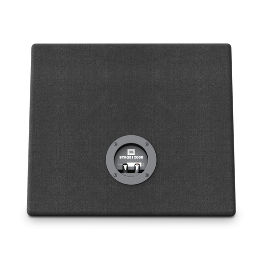 """JBL Stage 1200B Subwoofer - Black - Sealed slim enclosure with 12"""" (300mm) subwoofer - Back"""