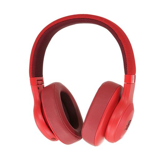 JBL E55BT - Red - Wireless over-ear headphones - Detailshot 15