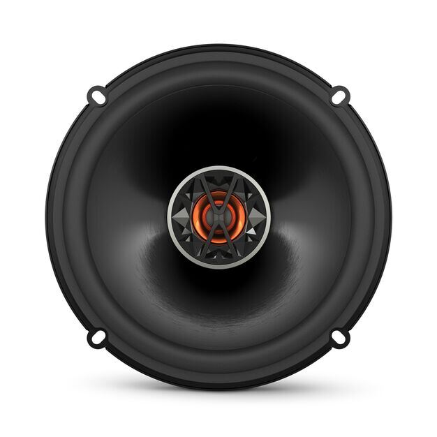 "Club 6520 - Black - 6-1/2"" (160mm) coaxial car speaker - Front"