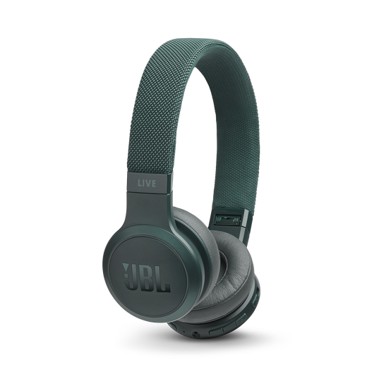 JBL LIVE 400BT - Green - Your Sound, Unplugged - Hero