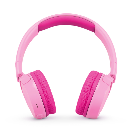 JBL JR300BT - Pink - Kids Wireless on-ear headphones - Front