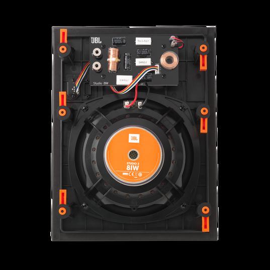 """Studio 2 8IW - Black - Premium In-Wall Loudspeaker with 8"""" Woofer - Back"""