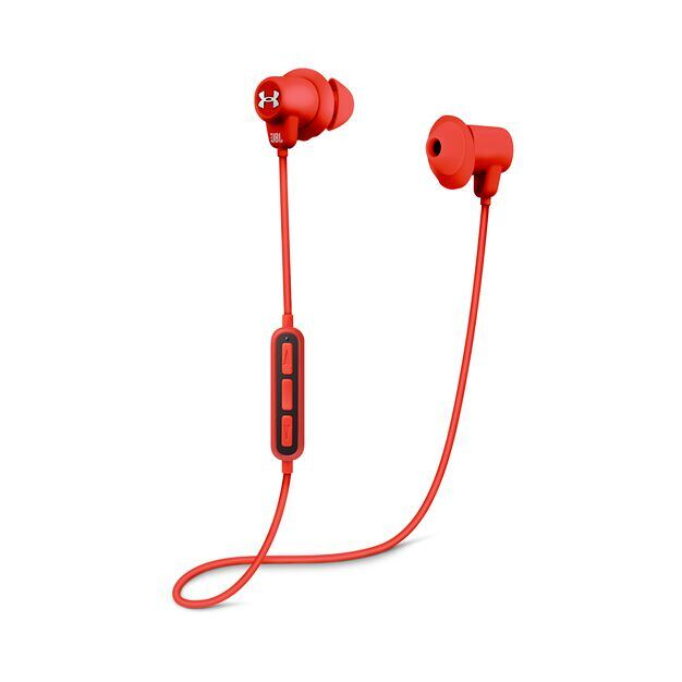 Under Armour Sport Wireless - Red - Wireless in-ear headphones for athletes - Detailshot 1