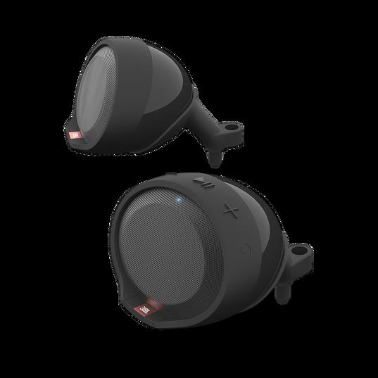 JBL Cruise - Black - Handlebar Mounted Bluetooth Audio System - Detailshot 1