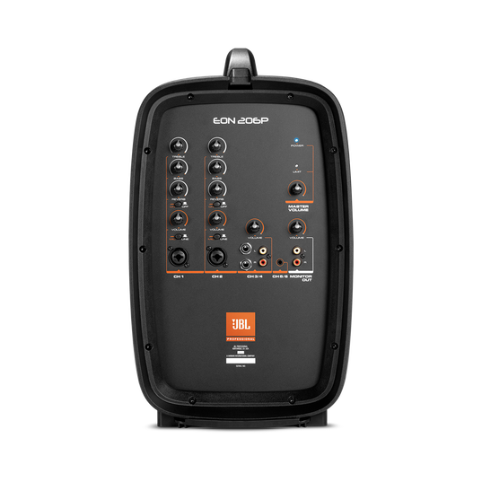 """JBL EON206P - Black - Portable 6.5"""" Two-Way system with detachable powered mixer - Detailshot 7"""