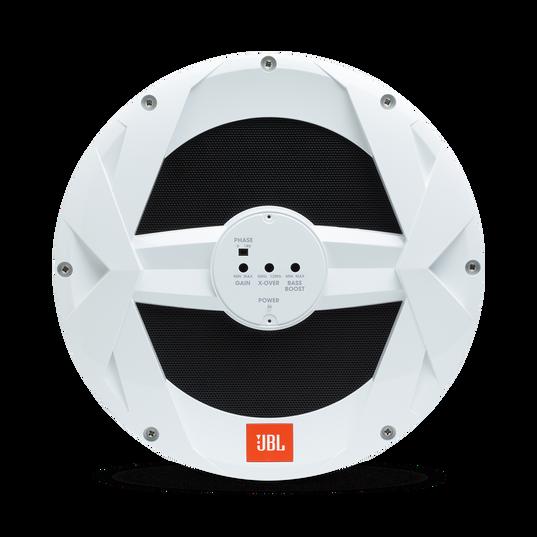 "JBL Marine BassPro 10-inch Powered Subwoofer - White Gloss - MBP10—10"" (250mm) Marine Audio 250W Powered Subwoofer System - Detailshot 2"