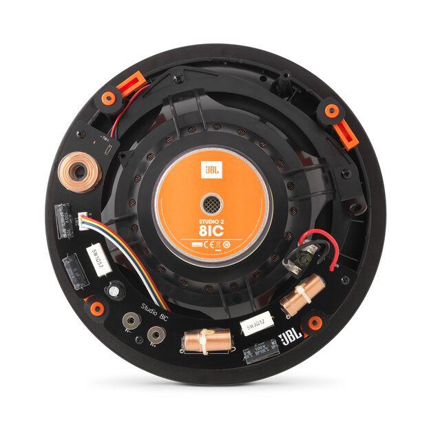 """Studio 2 8IC - Black - Premium In-Ceiling Loudspeaker with 8"""" Woofer - Back"""