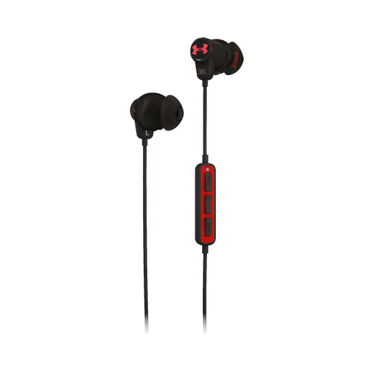 Under Armour Sport Wireless - Black - Wireless in-ear headphones for athletes - Detailshot 2