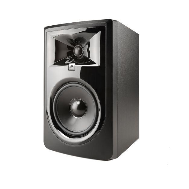 "JBL 306P MkII - Black - Powered 6"" (15.24 cm) Two-Way Studio Monitor - Hero"