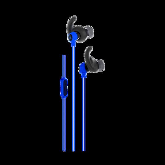 Reflect Mini - Blue - Lightweight, in-ear sport headphones - Hero
