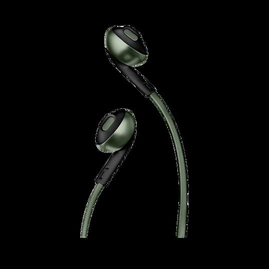 JBL TUNE 205BT - Green - Wireless Earbud headphones - Detailshot 1