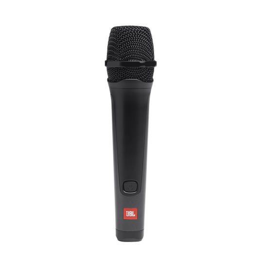 JBL PBM100 Wired Microphone - Black - Wired Dynamic Vocal Mic with Cable - Front