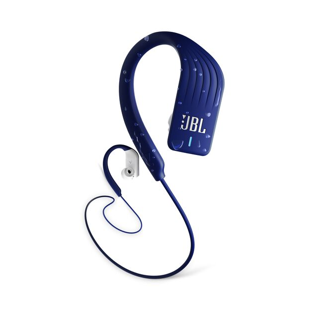 JBL Endurance SPRINT - Blue - Waterproof Wireless In-Ear Sport Headphones - Hero