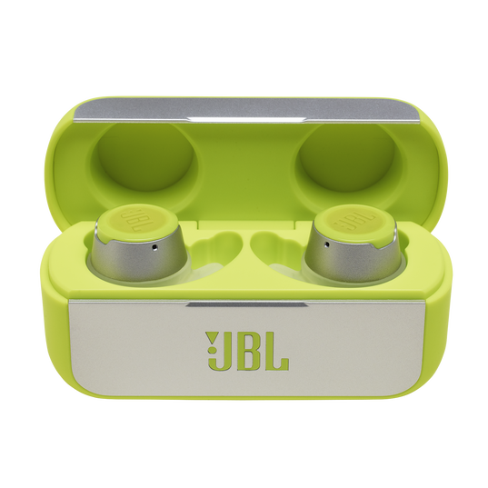 JBL REFLECT FLOW - Green - True wireless sport headphones. - Hero