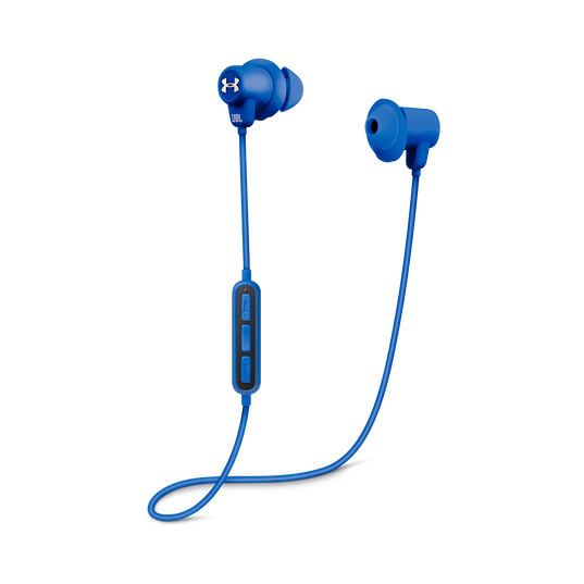 Under Armour Sport Wireless - Blue - Wireless in-ear headphones for athletes - Detailshot 1