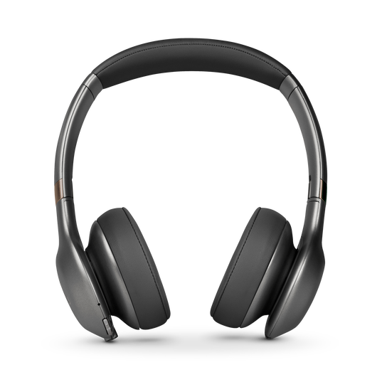 JBL EVEREST™ 310 - Gun Metal - Wireless On-ear headphones - Front