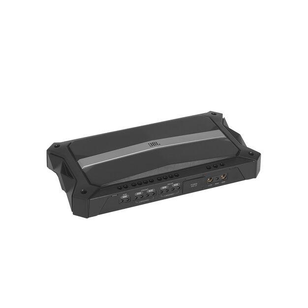 Stadium 5 - Black - High-performance multi-channel Class D amplifier - Hero