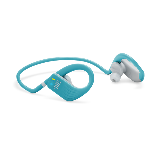 JBL Endurance DIVE - Teal - Waterproof Wireless In-Ear Sport Headphones with MP3 Player - Detailshot 4