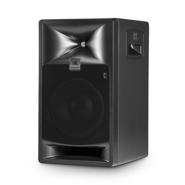 "JBL 708P - Black - 8"" Bi-Amplified Master Reference Monitor - Hero"