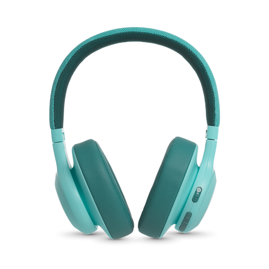 JBL E55BT - Teal - Wireless over-ear headphones - Detailshot 4