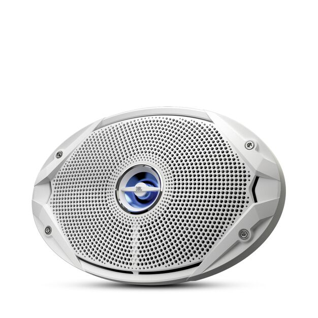"MS 9520 - White - 6"" x 9"" coaxial, 300 W Marine Speaker - Hero"