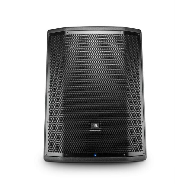 "JBL PRX818XLF - Black - 18"" Self-Powered Extended Low Frequency Subwoofer System with Wi-Fi - Front"