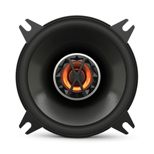 "Club 4020 - Black - 4"" (100mm) coaxial car speaker - Front"