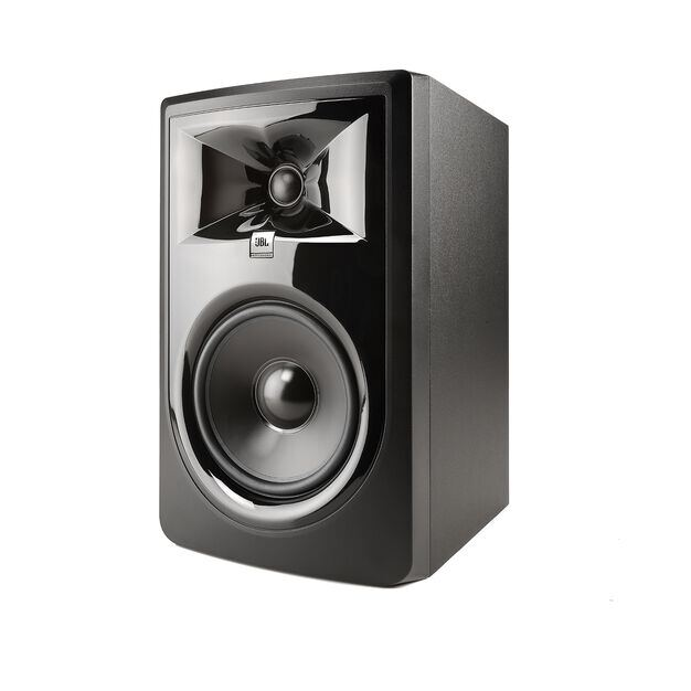 "JBL 306P MkII - Black - Powered 6"" Two-Way Studio Monitor - Hero"