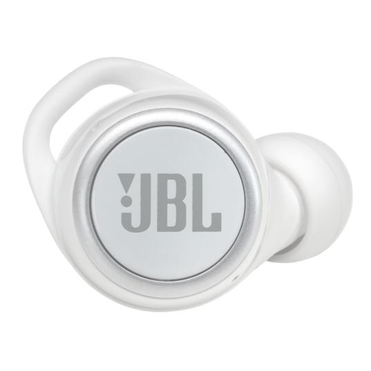 JBL Live 300TWS - White Gloss - True wireless earbuds - Detailshot 1