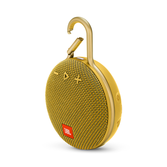 JBL CLIP 3 - Mustard Yellow - Portable Bluetooth® speaker - Hero
